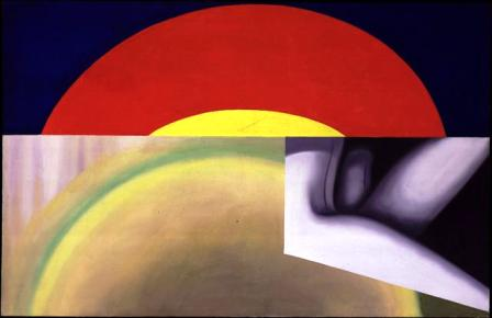 Brighter than the Sun 1961 painting by James Rosenquist