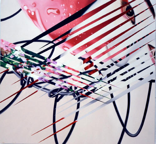 The Kabuki Blushes painting by James Rosenquist