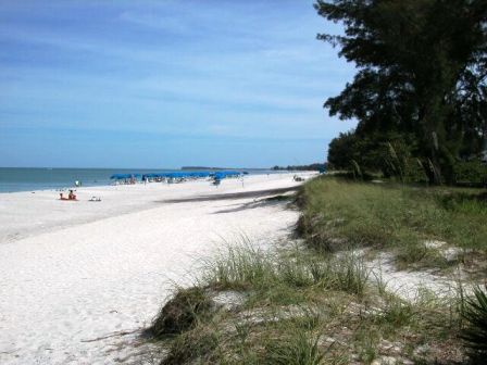 Captiva Island beach area