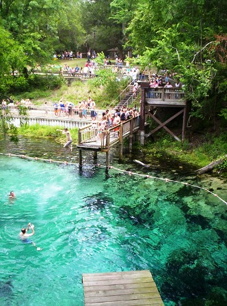 Fanning Springs state park in Florida