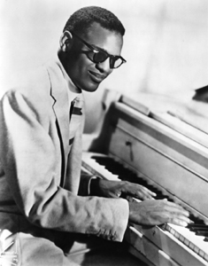 Ray Charles in his younger years