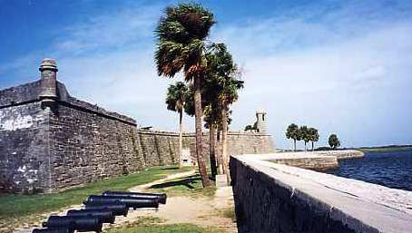 St Austine Fort in St Augustine Florida